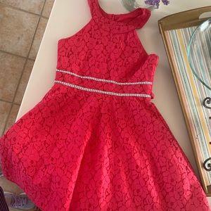 Girls Emily West lace dress size 8